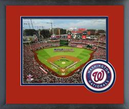 Nationals Park 2018 MLB All-Star Game - 11x14 Team Logo Matted/Framed Photo - $42.95