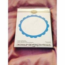 Sizzix Originals Die Large Scallop Oval Frame - $19.19