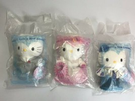 HELLO KITTY & DEAR DANIEL Sweetheart & McDonalds Crew Wedding Sealed RARE - $32.71