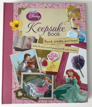 Disney Princess Keepsake Book by Parragon Books LTD Read, Create, and Keep  - $7.92