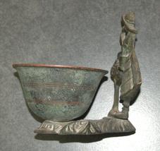 Vintage Israel Crinoline Lady Decorative Trinket Bowl Dish 1960's image 6