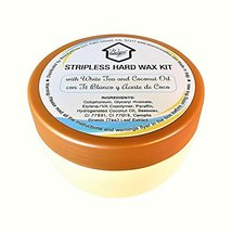 Wax at Home Microwavable White Tea Stripless Wax Kit 8.45 Oz. by Wax Necessities image 6
