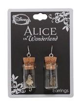 Disney Alice In Wonderland Bottle Jar Dangle Drop Earrings - $16.33