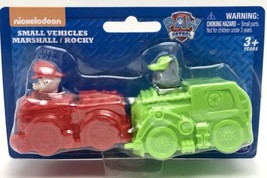 Paw Patrol Small Vehicles Marshall And Rocky - $8.90