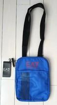 EA7 EMPORIO ARMANI Crossbody Small Zip Bag Brilliant Blue ~ FREE SHIPPING - $99.97