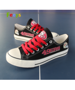 San Francisco 49ers shoes SF 49ers sneakers Fashion Christmas gift birth... - $55.00+