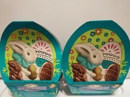 2-Ghirardelli Easter Milk Chocolate Caramel Duo Basket Gift 2.7oz-FREE SHIPPING! - $11.87