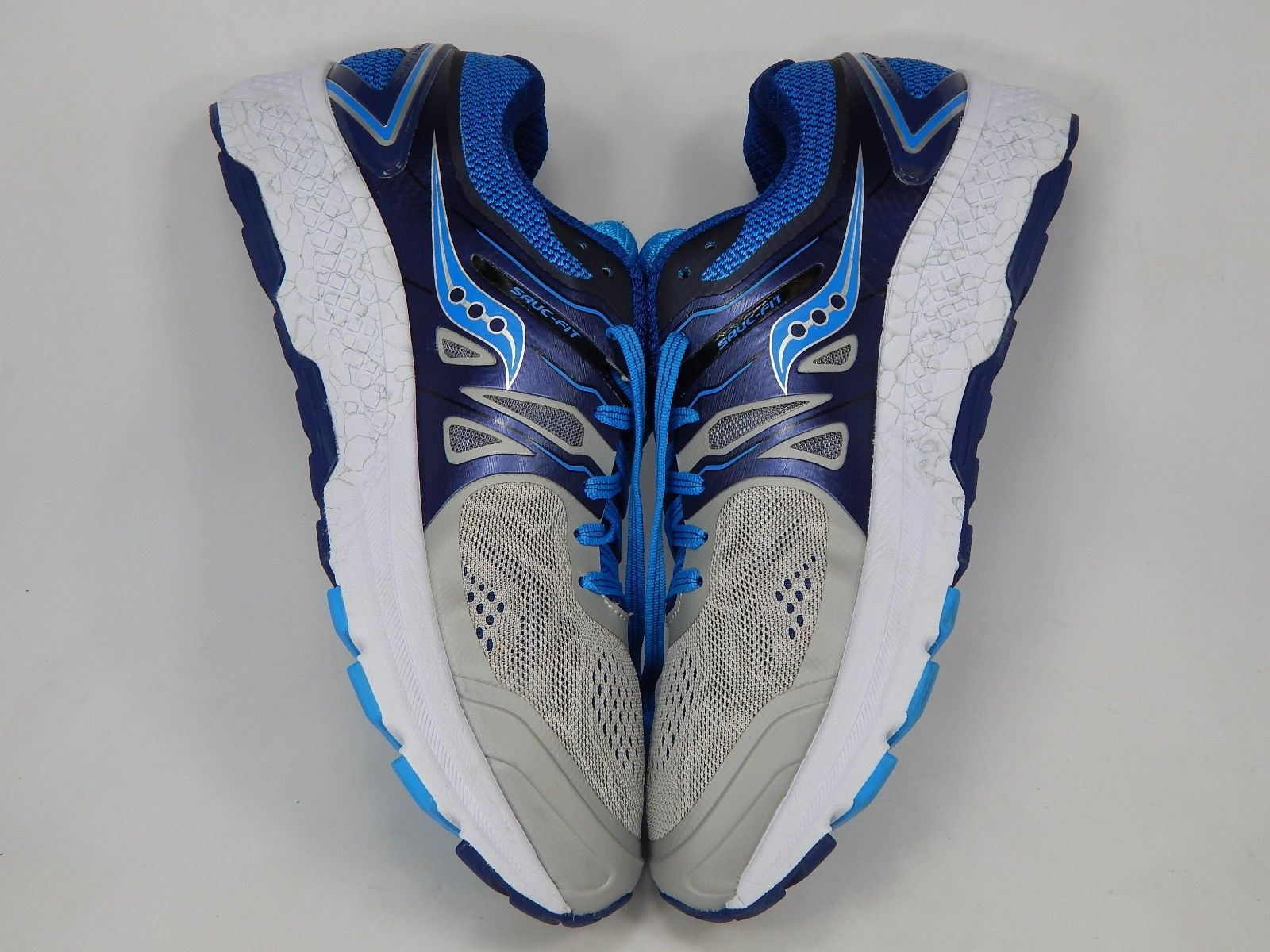 Saucony Omni 16 Size 11.5 M (B) EU 44 Women's Running Shoes Gray Blue S10370-1