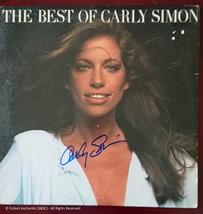Carly Simon Autographed Record Album - $179.00