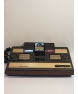 Mattell Electronics INTELLIVISION Home Console Model 2609 w/3 Games No TV Cables - $73.49