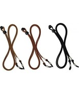 EBoot Eyeglass Strap PU Leather Eyeglass Strap Eyeglass Cords Retainer, ... - $19.49
