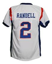 Radon Randell #2 BMS Blue Mountain State New Football Jersey White Any Size image 5