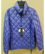 Women's 32 DEGREES XS Packable Blue Puffer Down COAT - $26.05