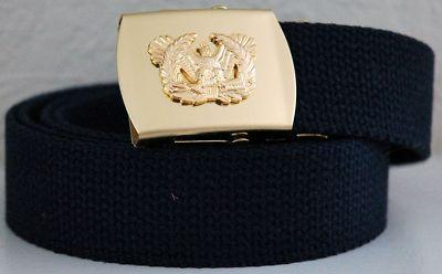 Primary image for US Army Warrant Officer Black Military Belt & Buckle