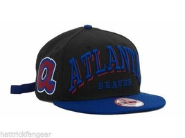 Atlanta Braves New Era 9Fifty MLB Baseball Mark Strapback Cap Hat - $20.85