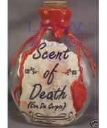Handmade Scent of Death Potion Bottle Halloween - $8.99