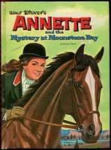 Vtg Disney 1962 Annette Funicello Mystery at Moonstone Bay Whitman HC 1s... - $14.99