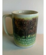Vintage HTF Otagiri Japan Collectible Coffee Mug Cup Golf is just like L... - $22.76