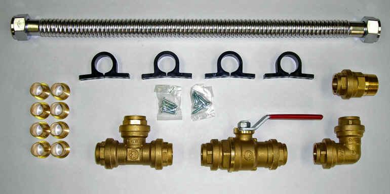 "Basepump No-Sweat Installation Kit 1/2"" CPK-050"