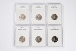 2005 Jefferson Nickel Westward Journey Nickel Series Coin Set ( American... - $19.95