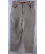 Gloria Vanderbilt Taupe (light Brown) Jeans Size 14 M Inseam 30 - $11.83