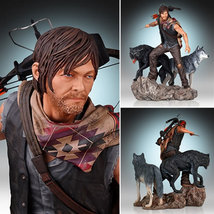 The Walking Dead Statues - Daryl and The Wolves Statue - €243,72 EUR