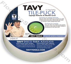 Tavy Tile Puck Marble Level and Lippage Detector - $11.99
