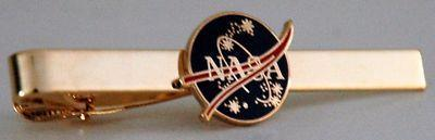 "Primary image for NASA 1"" Round 2-1/2"" Tie Clip"
