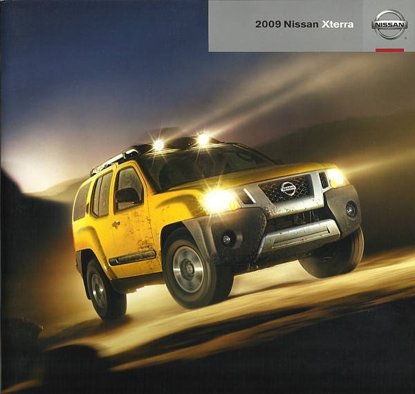 2009 Nissan XTERRA sales brochure catalog US 09 SE Off Road