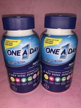 2 One A Day Men's Health  Multivitamin/Multimineral Supplement 200 CT Exp 05/22 - $26.63