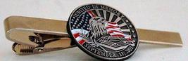 United in Memory of 911 September 11 2001 Tie Clip - $12.95