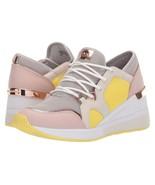 Michael Kors MK Women's Liv Trainer Mesh Sneakers Shoes Aluminum - $129.95