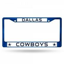 dallas cowboys nfl football team logo anodized blue license plate frame ... - $28.49