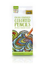 Crayola - Adult Colouring - 12 Dual-Ended Colored Pencils - 24 Colours -... - $7.69