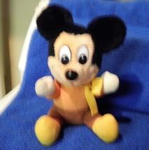Mickey Mouse Plush Christmas Carol Mickey - $3.89