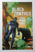 1990 Black Panther 17 x 11 inch Marvel Comics promo poster 1:Avengers movie hero - $39.59