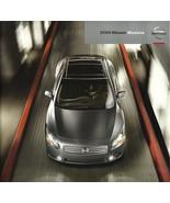 2009 Nissan MAXIMA sales brochure catalog US 09 3.5 S SV 4DSC - $8.00