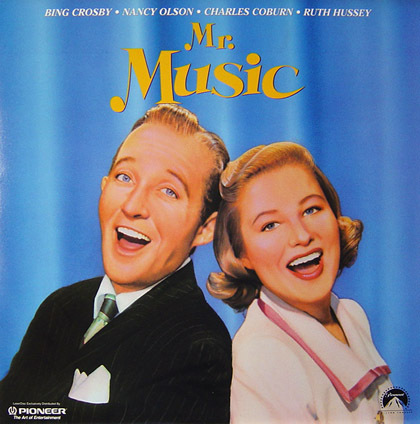 Bing Crosby Makes For an Easy-Going 'Mr. Music' on One Collectible Laser Disc