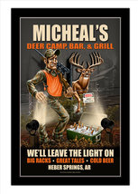 Deer Camp Decor Personalized Print / Sign / Poster - $19.95