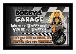 Grumpy's Garage Personalized Print / Poster / Sign - $19.95