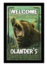 Grumpy Bear Personalized Print / Poster / Sign - $19.95
