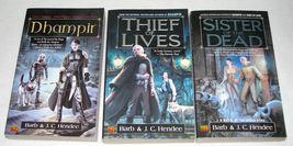 3 PB Books by Barb Hendee, Noble Dead Series, Vampires - $6.99