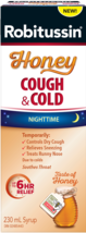 ROBITUSSIN Honey Night Time Cough & Cold Syrup 230ml From CANADA LIMIT OF 2 - $22.23