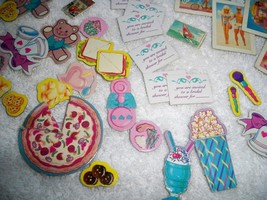 Vintage 80s Barbie Collectables 60+ Cardboard Accessories Posters Music Pictures - $15.43