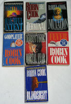 Lot of 7 PB Books Robin Cook, Medical Thrillers - $14.00