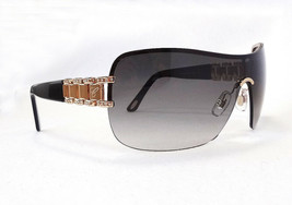 CHOPARD Women's SUnglasses SCHA62S 300F 99-01-120 Black/Gold MADE IN ITA... - $255.00