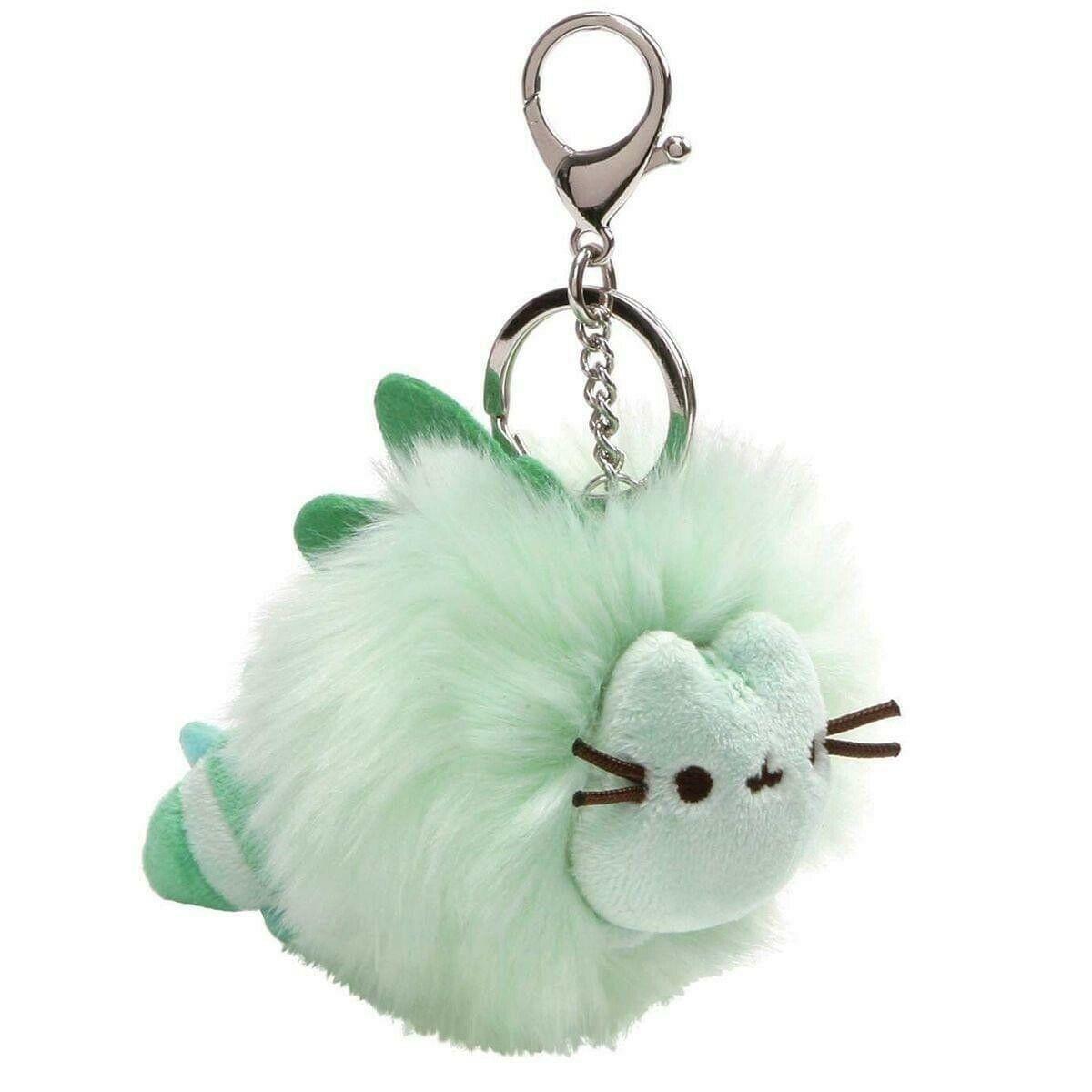 Primary image for Gund Pusheen Pastel Poof Pom Pom Keychain - Green #4060000