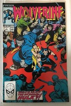 Wolverine #7 Marvel Comic Book 1989 NM 9.0 Condition X-MEN Incredible Hulk - $7.27