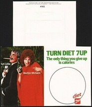 Vintage bottle ringer DIET 7 UP dated 1981 Rich Little Marilyn Michaels ... - $6.99
