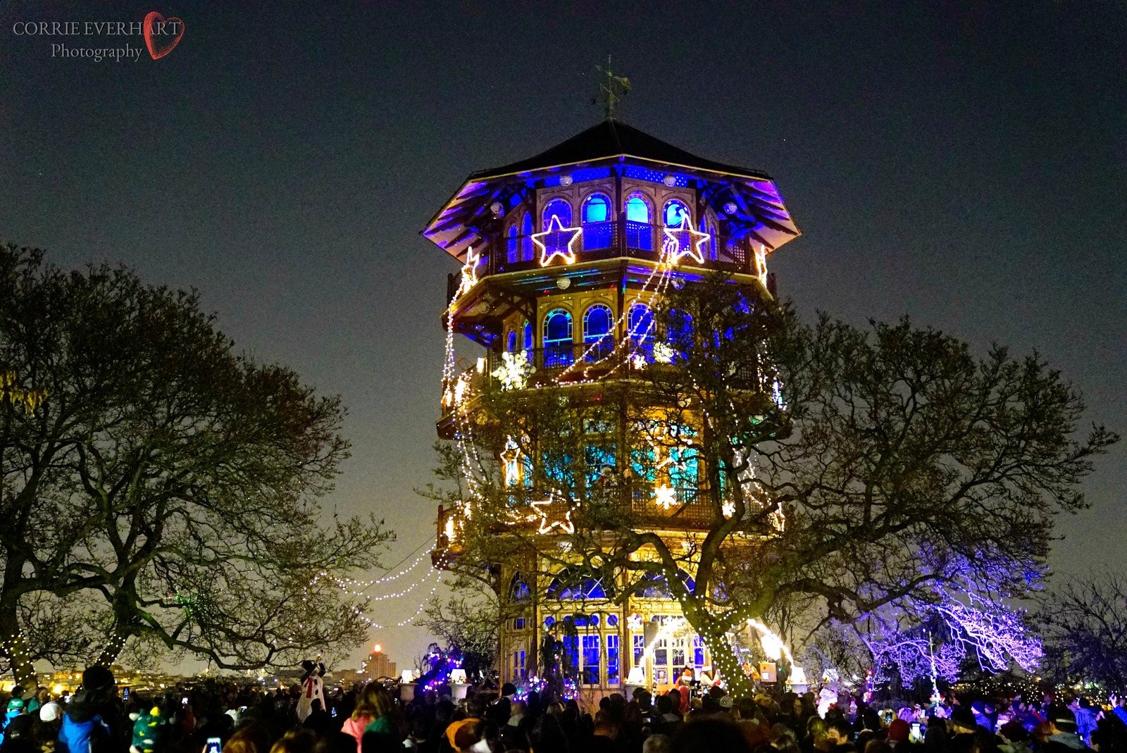 Primary image for Patterson Park Pagoda Lighting - Blue